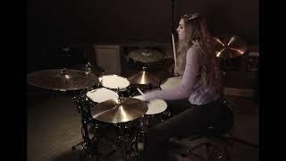 "SEVENDUST ""Karma"" drum cover~Brooke C"