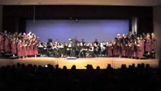 Carmina played by Papillion Lavista Highschool Wind Ensemble with Concert Choir