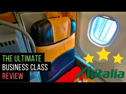 Alitalia A330 Business Class Review: Rome to Delhi