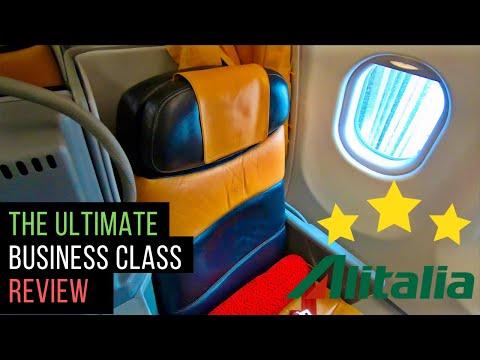 Alitalia A330 Business Class Review: Rome to Delhi