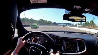 2015 Dodge Challenger SRT Hellcat (8-speed) - WR TV POV Track Test