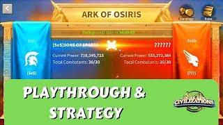 FULL ARK of OSIRIS EPIC Battle & CRUCIAL TIPS | Rise of Civilizations