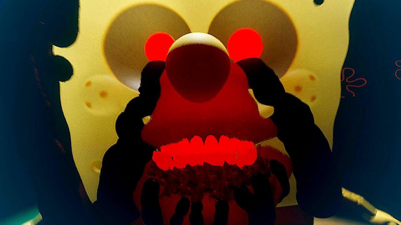 SPONGEBLOOD!!! THE SCARIEST SPONGEBOB WANTS YOUR BLOOD!!