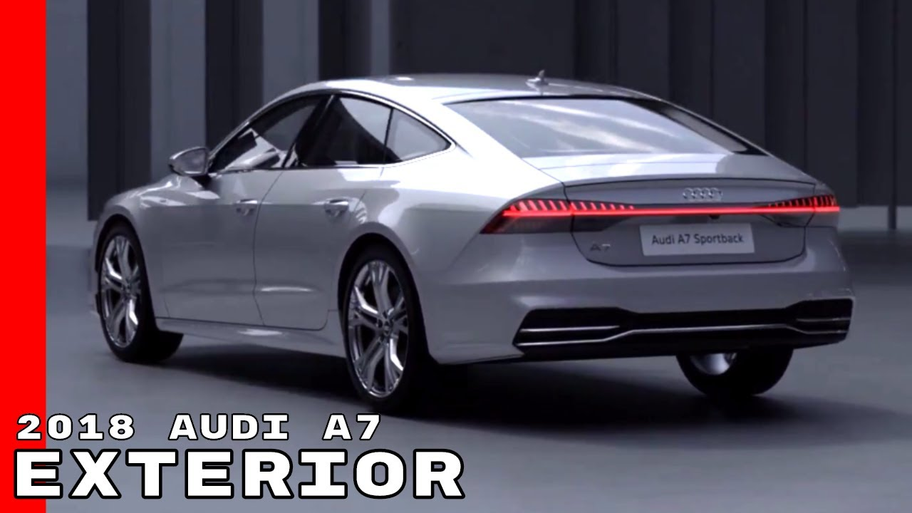 2018 audi a7 exterior youtube. Black Bedroom Furniture Sets. Home Design Ideas