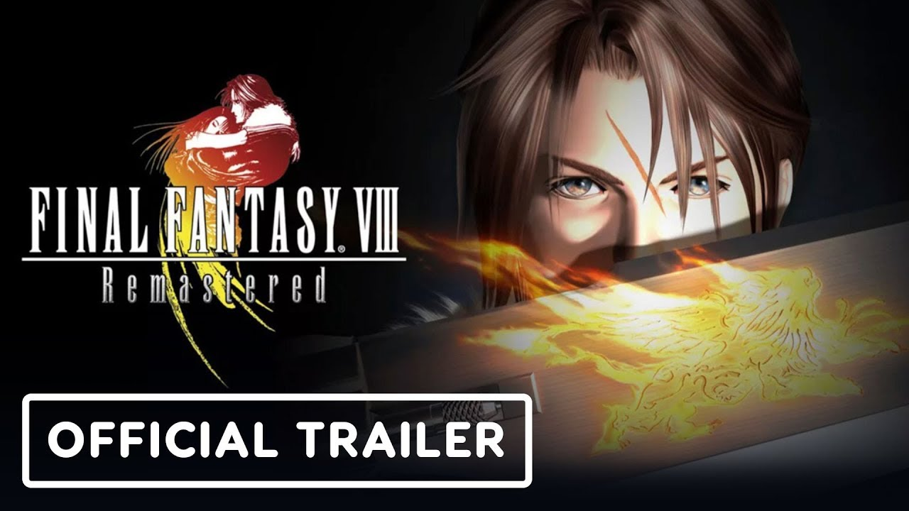 Final Fantasy 8 Remastered - Offizieller Trailer zu Gameplay und Erscheinungsdatum + video
