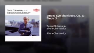 Etudes Symphoniques, Op. 13: Etude IX