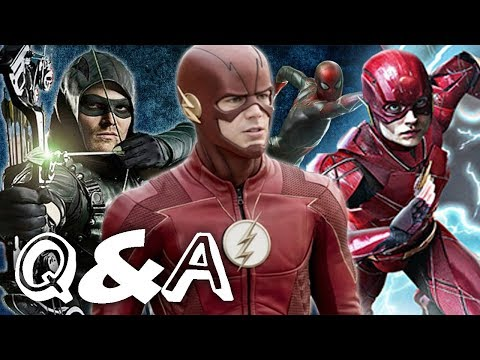 Q&A#3 - How Should the Flash end? Can Arrow Become good again? Should the DCEU get a reboot?