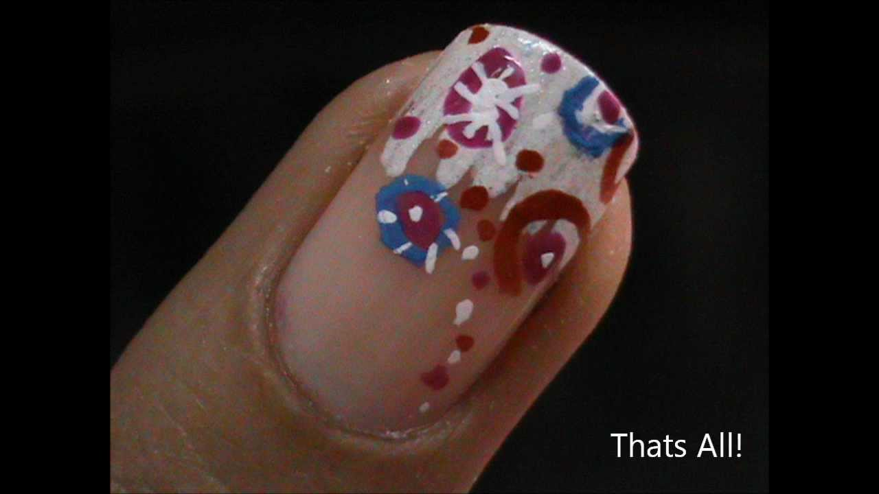 elegant french tip nail art tutorial