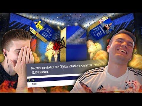 FIFA 18: TOTS Bundesliga Discard Pack Quartett - 95+ TOTS DISCARD! 😱🤐😭