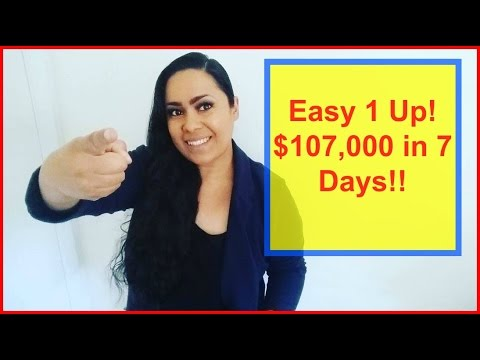 Easy 1 Up Review [$107,000 in 7 Days]