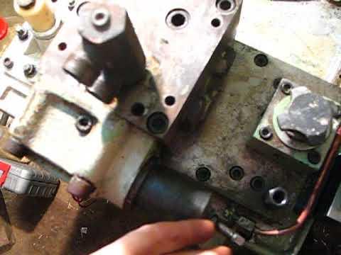маленький обзор маслостанции от станка 16Б05А