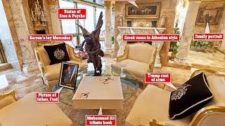 Donald Trump's 66th Floor Penthouse Exposes His Idol 'Sun God' Apollo, Son of Zeus