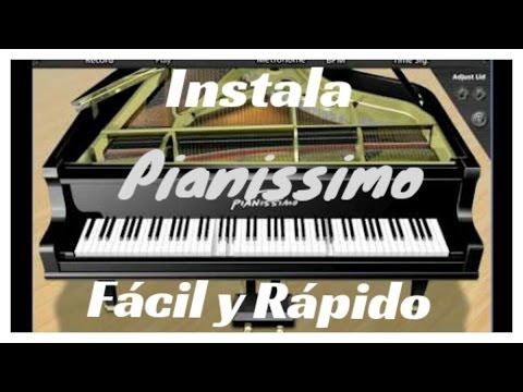 Instala Pianissimo Fácil Y Rápido   Estudio de Grabación Casero   Actualizado 2016