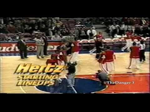 Allen Iverson 35pts vs NY Knicks 96 97 NBA Season