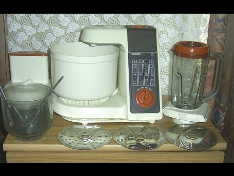 Test Funktionsprufung Kuchenmaschine Philips Food Processor Youtube