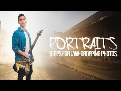8 TIPS for Jaw-dropping Portraits! + 100K GIVEAWAY