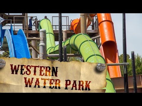 All Rides at Western Water Park Magaluf, Mallorca Onride POV