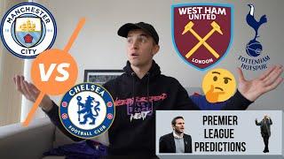 Mourinho First Tottenham Win?    Man City Vs Chelsea Prediction    Pochettino To Man United?