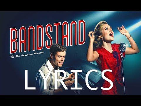 LYRICS - Nobody - Bandstand Original Broadway CAST RECORDING