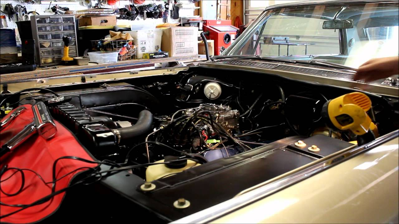 Jason's 1964 429 Cadillac Engine Project - Engine Fires Up ...