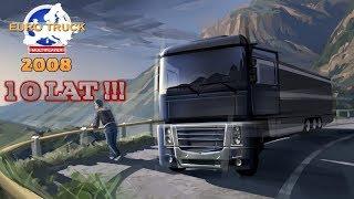 Euro Truck Simulator 1 Tak wyglądała gra równe 10Lat temu.