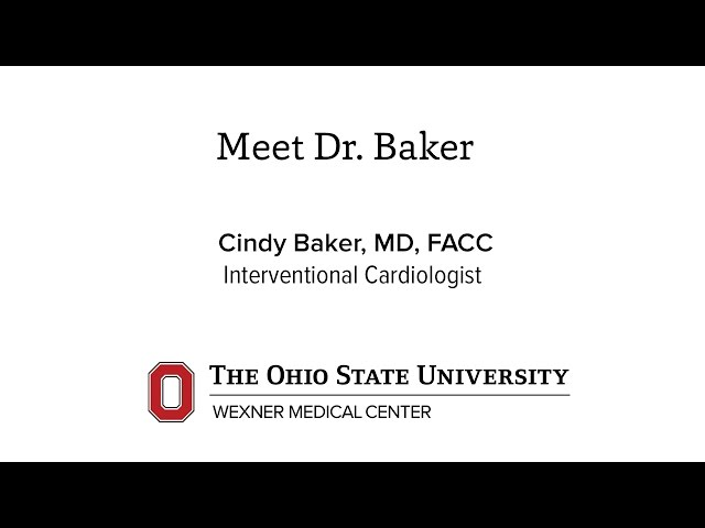 Cindy Baker MD | Ohio State University Wexner Medical Center