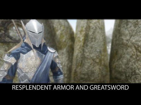 DARK SOULS INSPIRED - Skyrim Mods - Resplendent Armor and