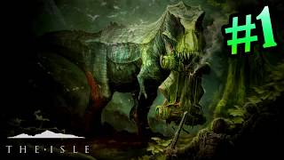 The Isle Game Review Played on Ultra Settings | Dinosaur Game | Surviver Game