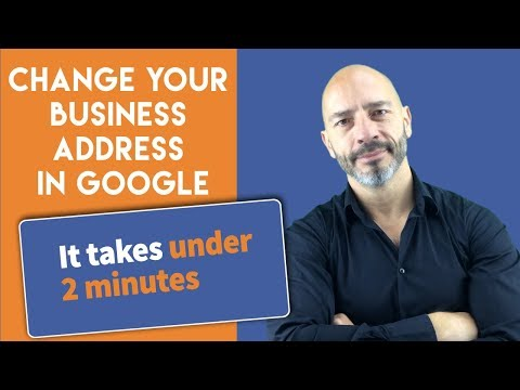 How to change an address on Google maps under 2 mins