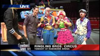 KBAK/KBFX Live Shots - Ringling Bros. and Barnum & Bailey Circus - 09-06-13