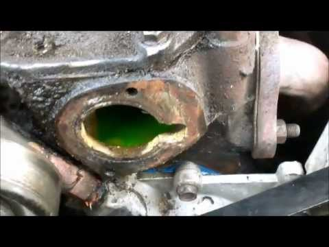 Thermostat Replacement Overheating fix Part 1 Jeep - YouTube