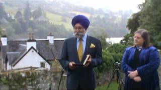 Sikhs at Kenmore Churchyard remember Maharaja Duleep Singh