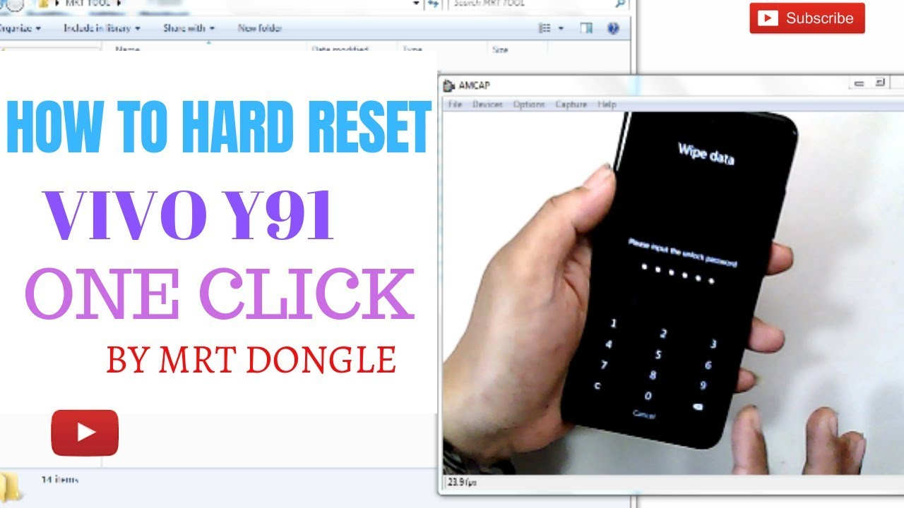 VIVO Y91(Android 8 1 0)HARD RESET ONE CLICK BY MRT DONGLE