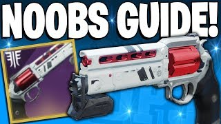Destiny 2 A Noobs Guide To Getting The LUNA 39 S HOWL Hand Cannon Competitive Reward
