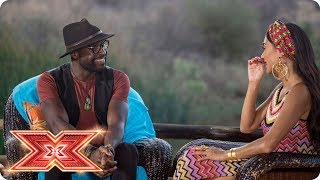 Nicole's reveal: Slavko & Kevin Davy White are next to find out | Judges' Houses | The X Factor 2017