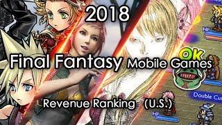 Final Fantasy Mobile Games Revenue Review 2018