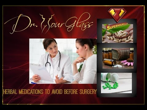 Plastic Surgery-Herbal Medications to Avoid Before Surgery-Dr.Cortes