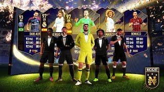 Baixar INSANE BRAZILIAN WALK OUT!!! LIGHTNING ROUND PACKS FOR TOTY DEFENDERS! FIFA 18 Ultimate Team