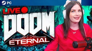 I'm in the doom for mood | Doom Eternal first playthrough