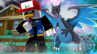 Minecraft: POKÉMON RUBY - MEGA CHARIZARD X  ‹ Frango ›