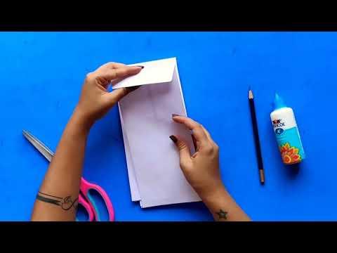 DIY star lantern using envelopes | Easy Paper lantern | Lantern making | Christmas star DIY
