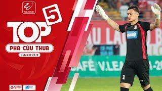 Đặng Văn Lâm phản xạ như De Gea dẫn đầu top 5 pha cứu thua tại V-League 2018    VPF Media