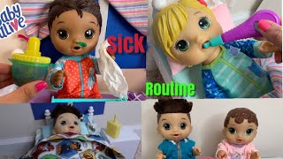 Baby Alive Cold Morning Routine videos
