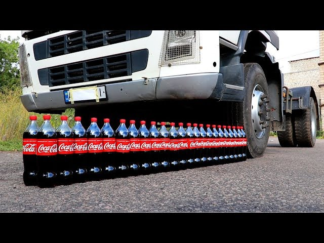 EXPERIMENT: TRUCK VS COCA COLA