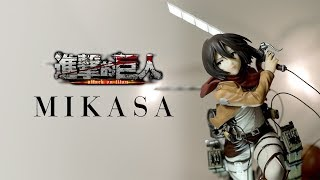 PULCHRA 進擊的巨人 米卡莎 三笠  阿卡曼 ミカサ・アッカーマン   Mikasa Ackerman三笠 開箱
