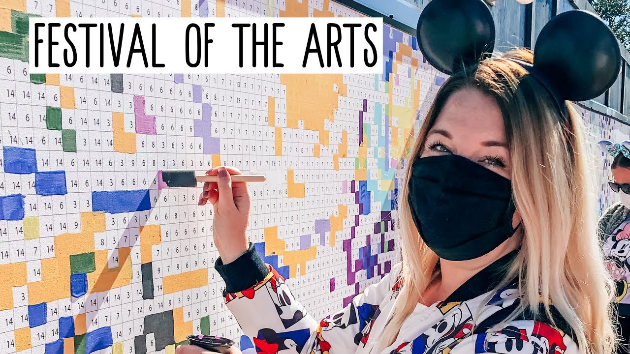 First time EVER at Epcot's Festival of the Arts! 🎨 | Disney Vlog