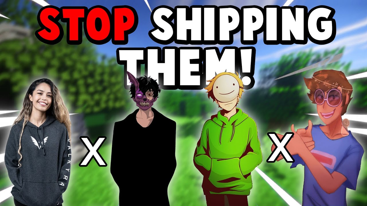 Download STOP Shipping YouTubers! (Valkyrae x Corpse, Dream x George)