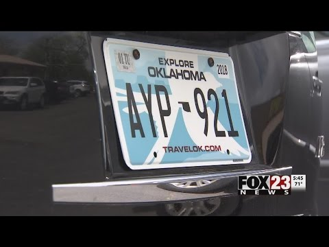 VIDEO: Oklahoma commissioner pushes to change state car tag laws