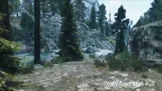 Skyrim - Vanilla vs RealVision ENB