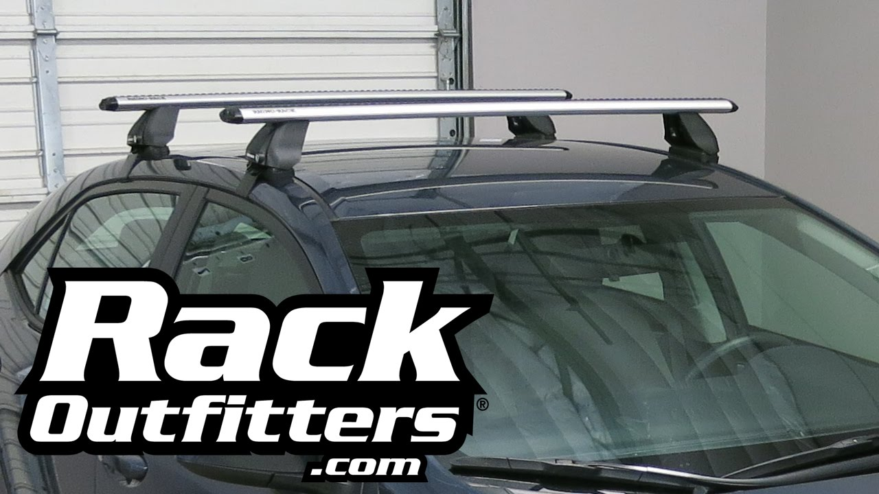 2015 toyota camry with thule 480r traverse aeroblade roof rack by rack outfitters